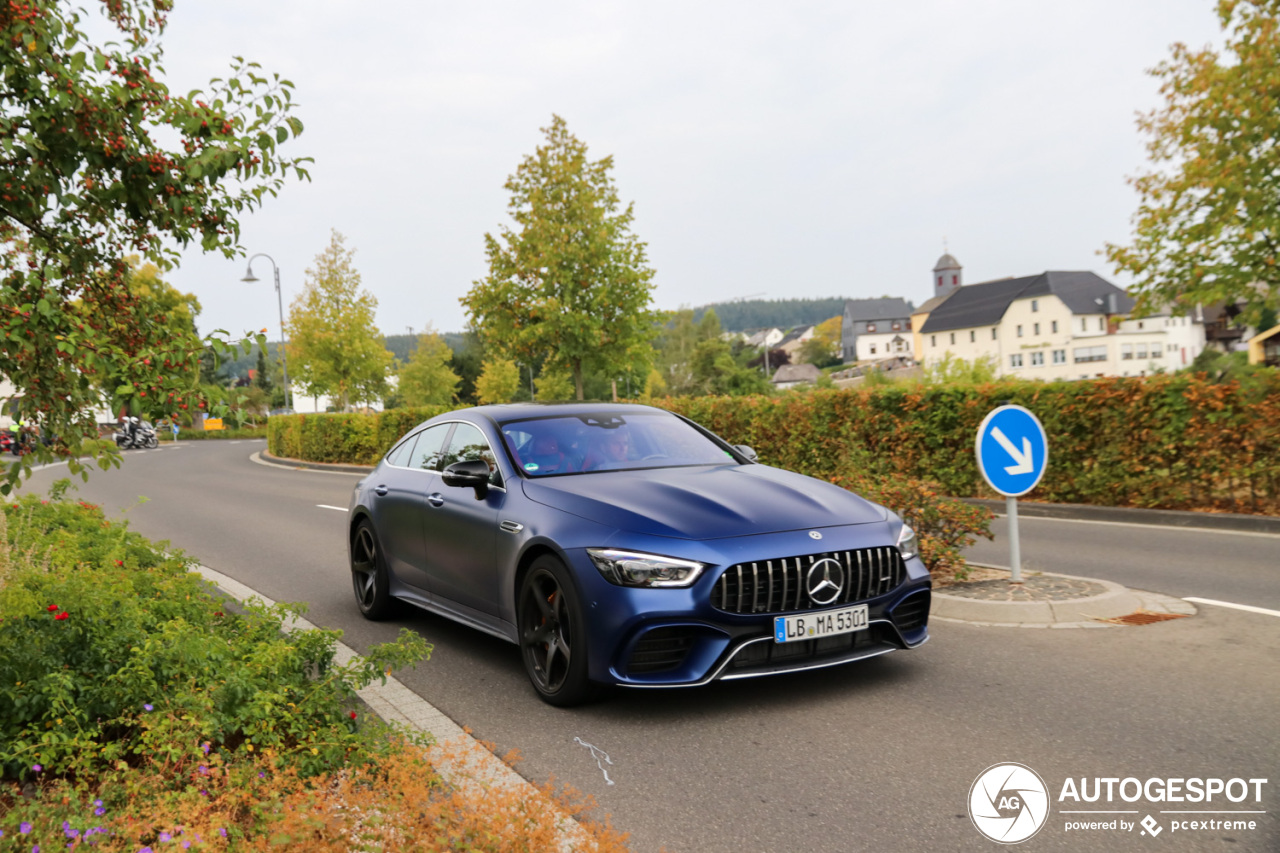 mercedes amg gt 63 s x290 2 janvier 2019 autogespot. Black Bedroom Furniture Sets. Home Design Ideas