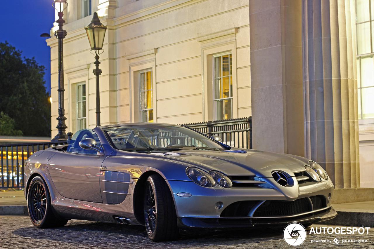 Mercedes Benz Slr Mclaren Roadster 722 S 6 January 2019 Autogespot