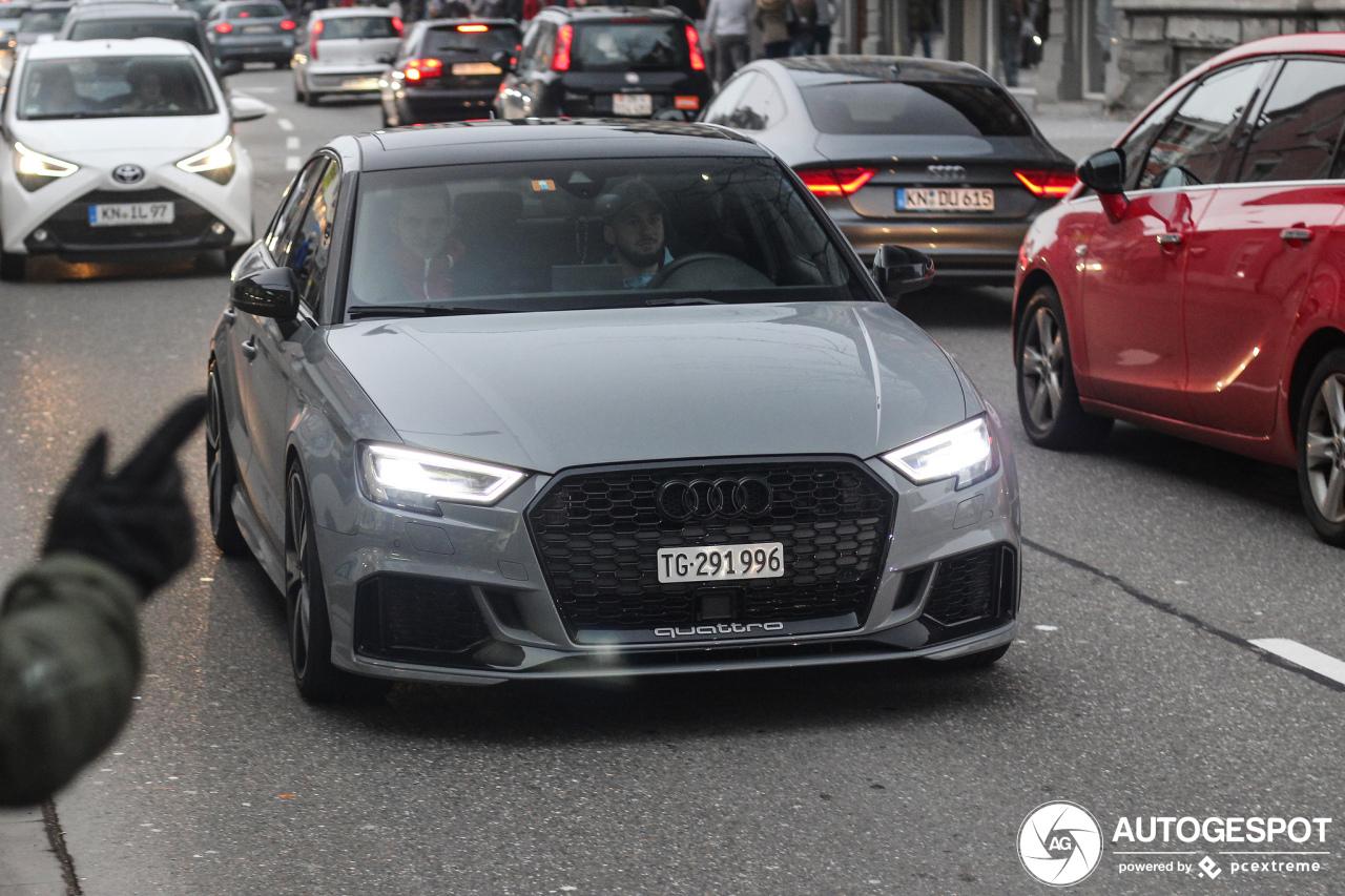 Audi Rs3 Sedan 8v 8 January 2019 Autogespot