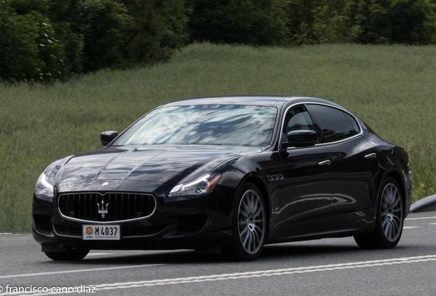 Maserati Quattroporte GTS 2013