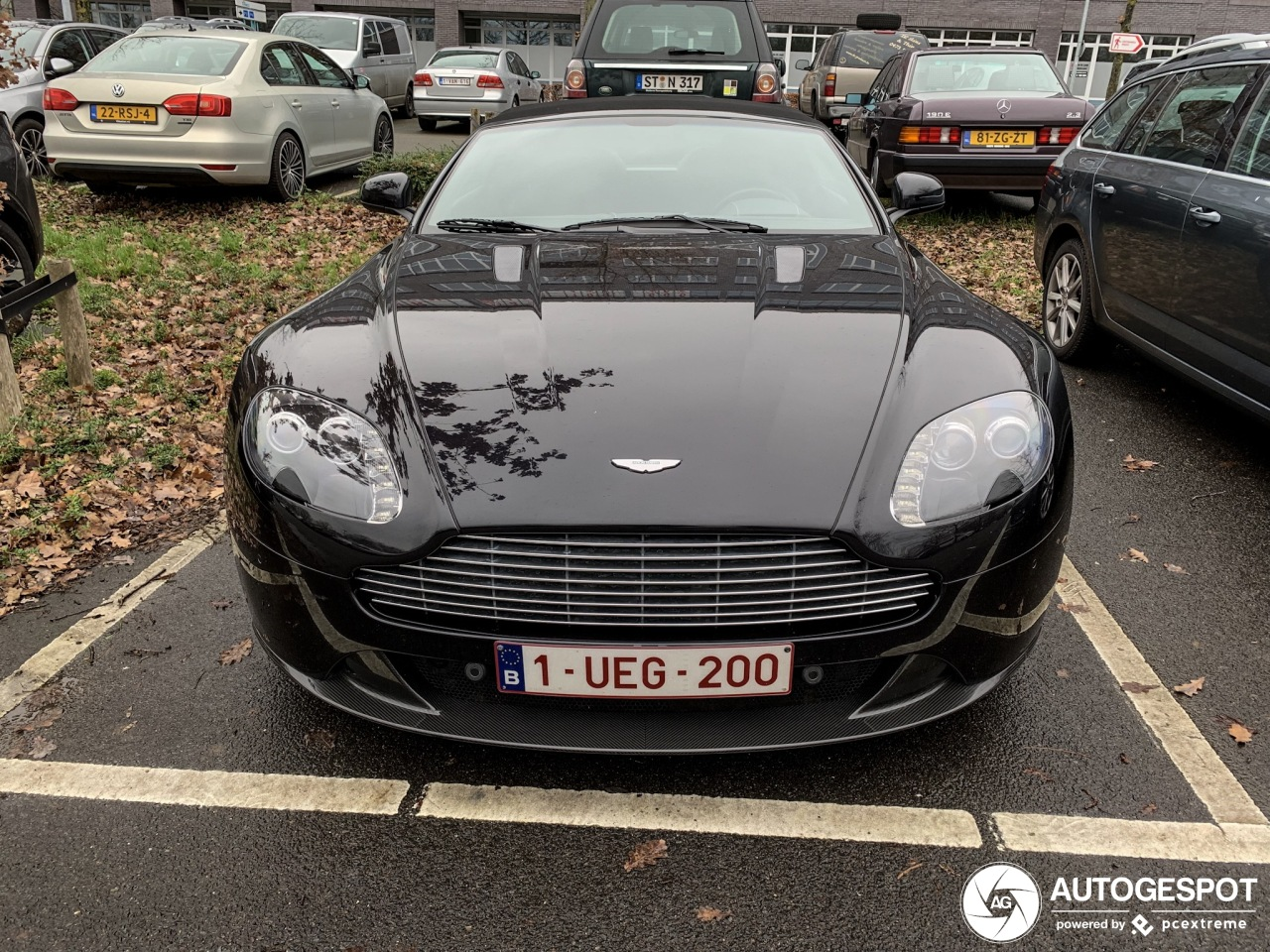 Aston Martin V8 Vantage S Roadster - 12 January 2019