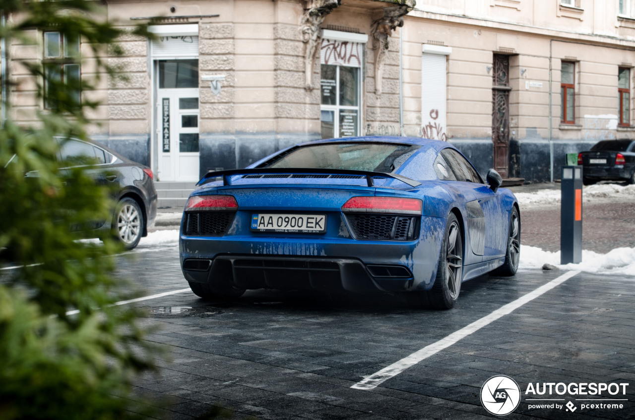 Audi R8 V10 Plus 2015 13 Januari 2019 Autogespot