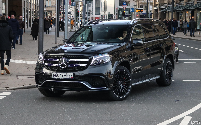 Mercedes Amg Gls 63 X166 17 January 2019 Autogespot