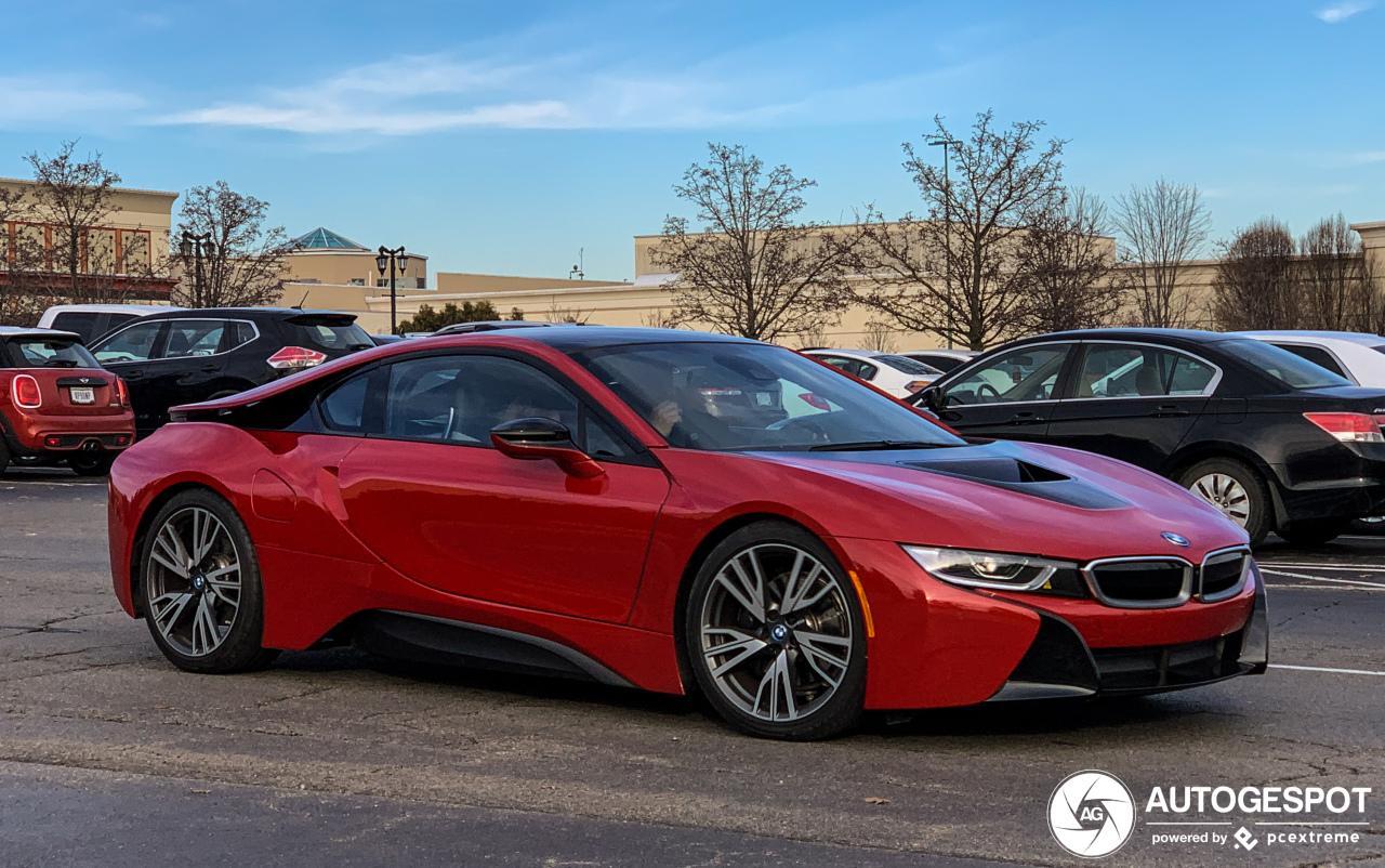 Bmw I8 Protonic Red Edition 20 January 2019 Autogespot