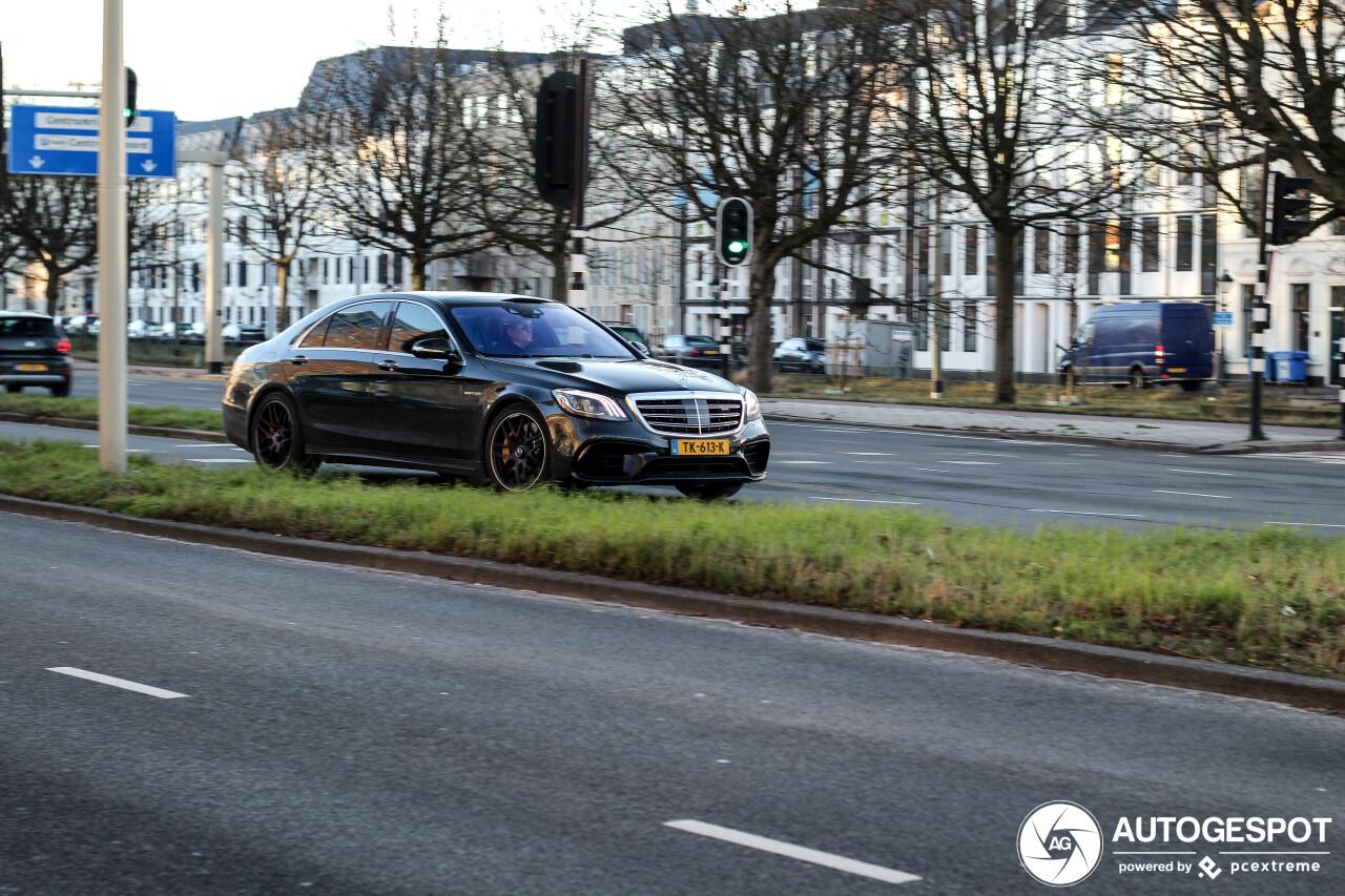 Mercedes Amg S 63 V222 2017 20 January 2019 Autogespot