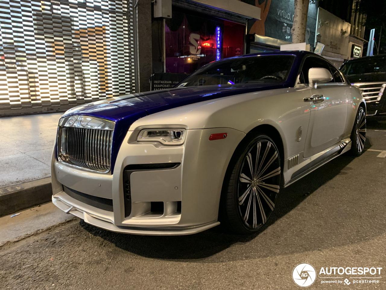 Rolls-Royce WALD Wraith Black Bison Edition - 24 January