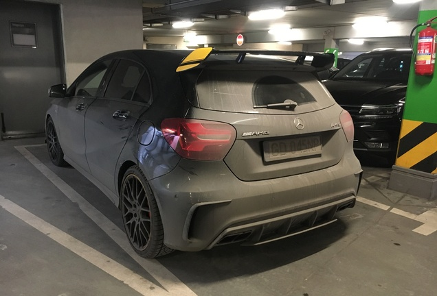 Mercedes-AMG A 45 W176 Yellow Night Edition