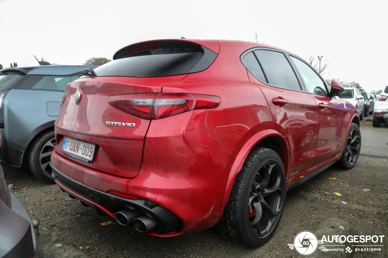 alfa romeo stelvio quadrifoglio 26 janvier 2019 autogespot. Black Bedroom Furniture Sets. Home Design Ideas