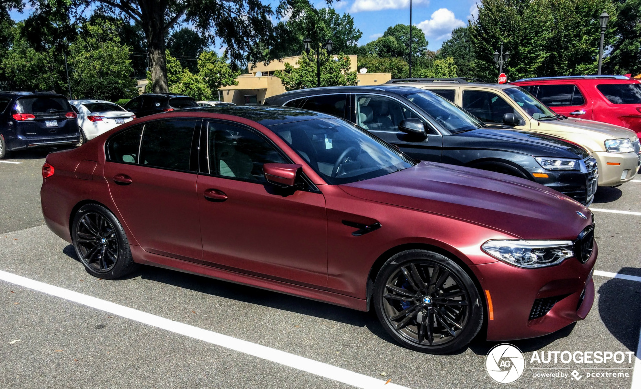 Bmw M5 F90 First Edition 2018 27 January 2019 Autogespot