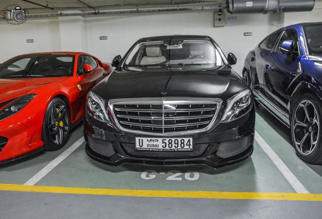 Mercedes-Maybach Brabus S 600 X222