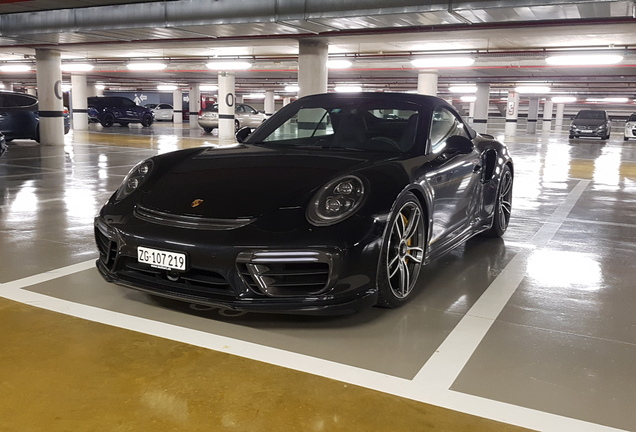Porsche 991 Techart Turbo S Cabriolet MKII GTsport '1 of 30'