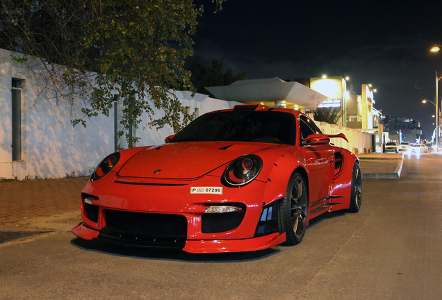 Porsche 997 GT2 Liberty Walk Widebody