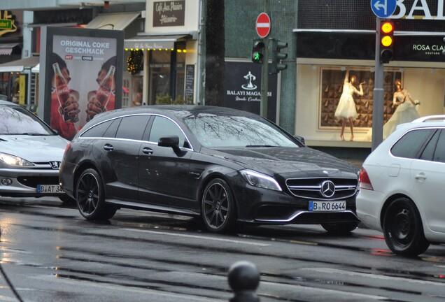Mercedes-Benz CLS 63 AMG X218 Shooting Brake 2015
