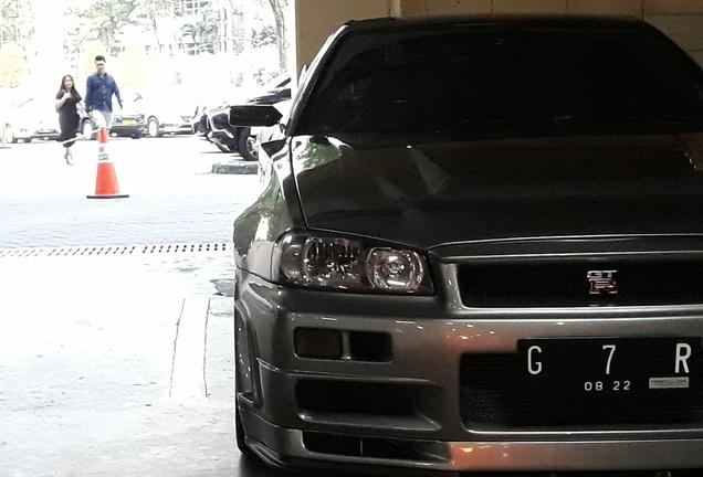 Nissan Skyline R34 GT-R V-Spec II Nür