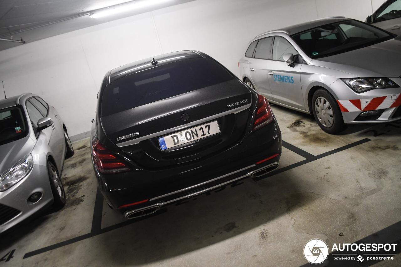 Mercedes-Maybach Brabus S 650 X222 2018