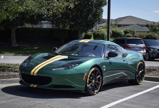 Lotus Evora S Heritage Racing Edition
