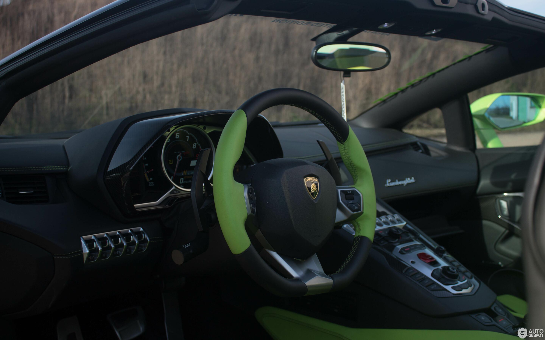 Lamborghini Aventador LP700-4 Roadster Liberty Walk LB Performance Wide Body