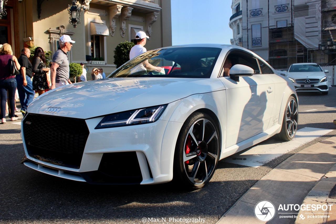 Audi Tt Rs 2017 18 February 2019 Autogespot