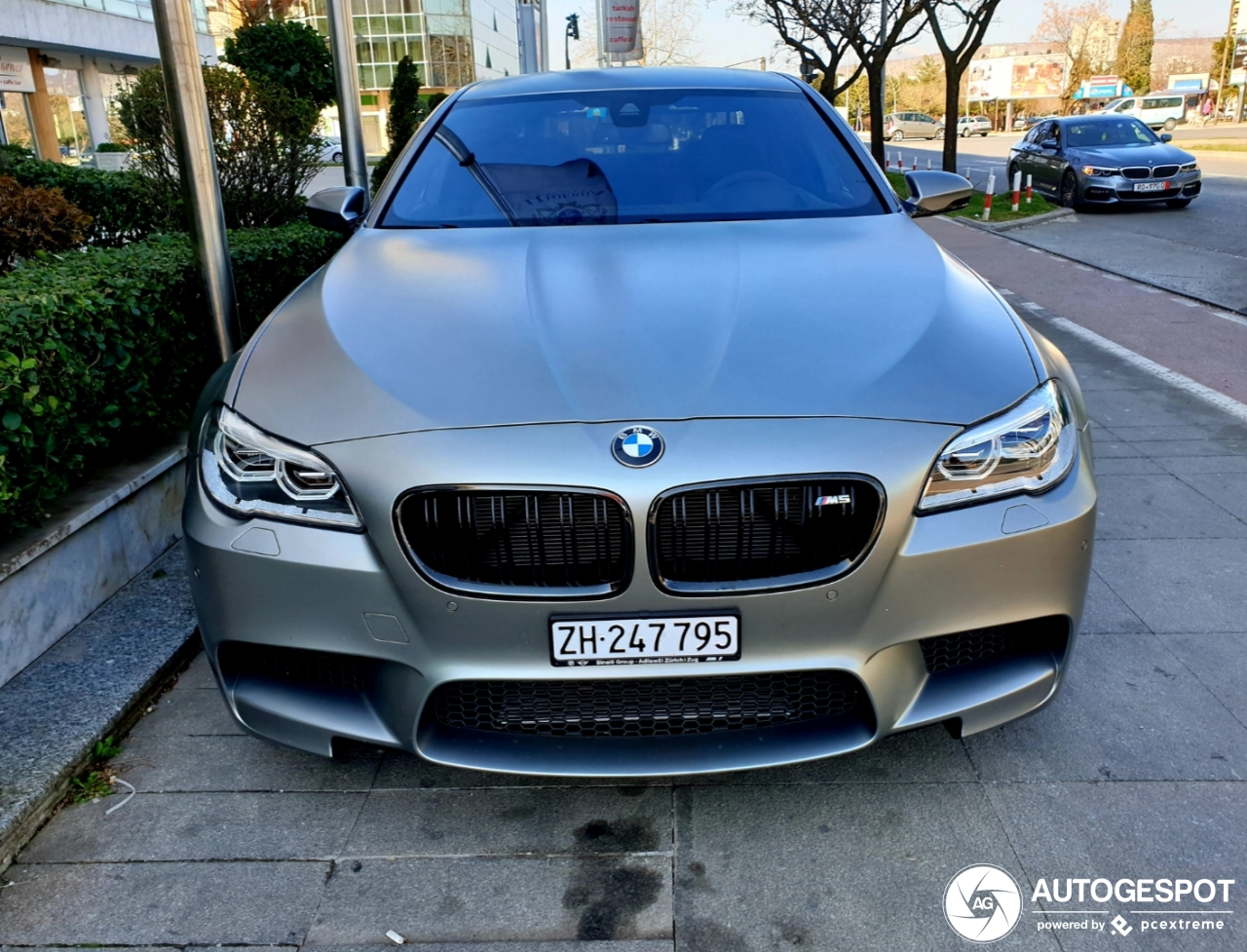 Bmw M5 F10 30 Jahre Edition 22 February 2019 Autogespot