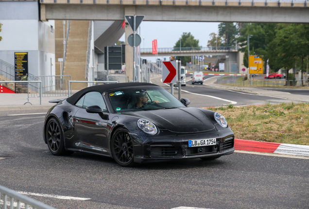 Porsche 992 Turbo S Convertible