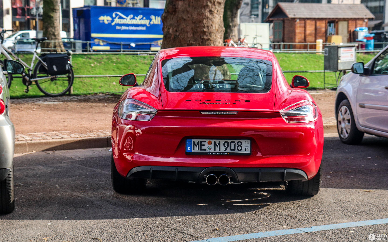 Porsche 981 Cayman GTS