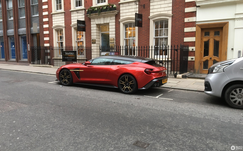 Aston Martin Vanquish Zagato Shooting Brake 5 March 2019 Autogespot