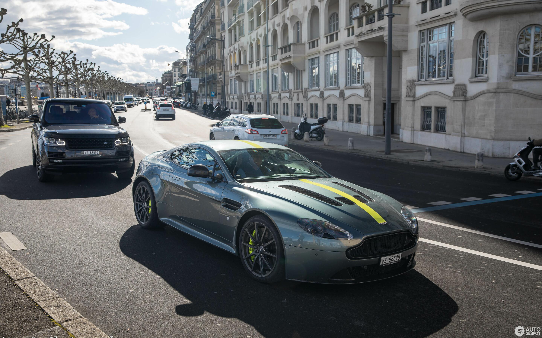 Aston Martin V12 Vantage S Amr 8 March 2019 Autogespot