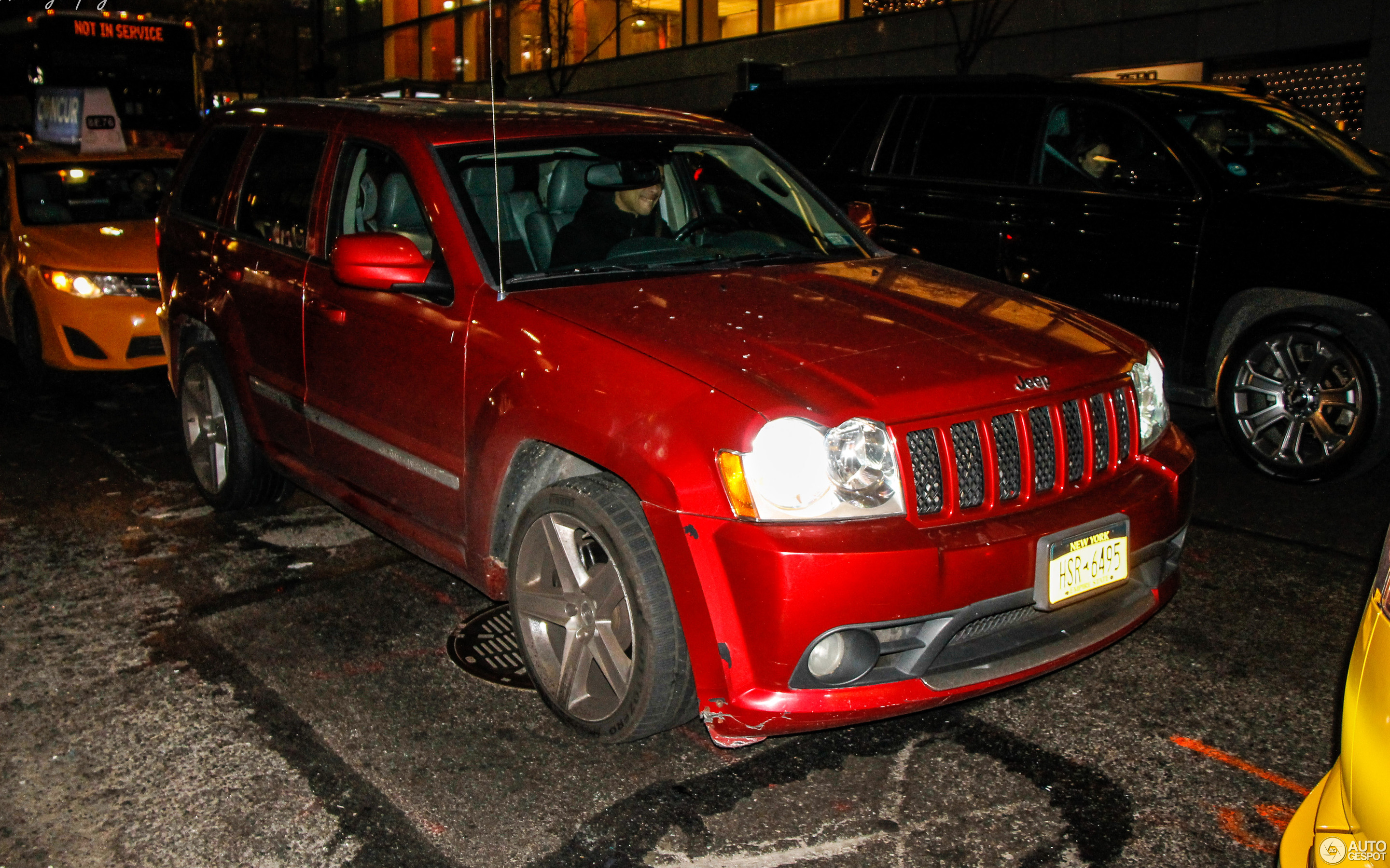 jeep grand cherokee srt-8 2005 - 8 march 2019