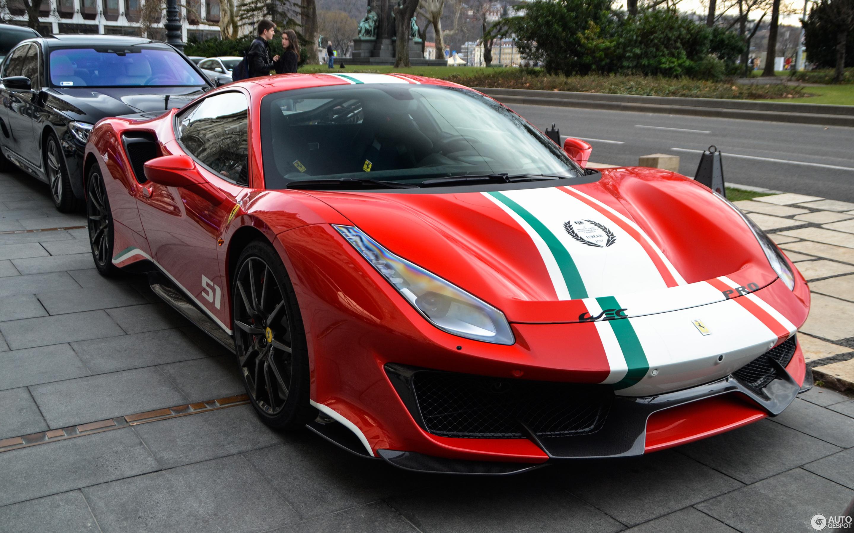 Ferrari 488 Pista Piloti 11 March 2019 Autogespot