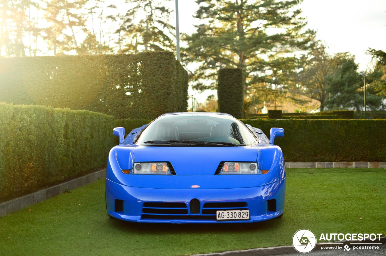 Bugatti EB110 celebrates its 30th birthday this year