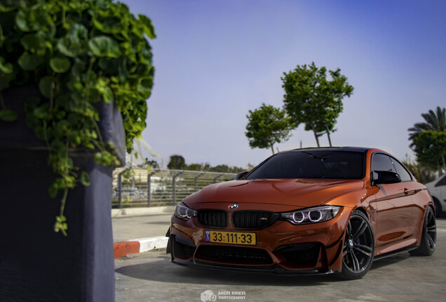 BMW M4 F82 Coupe MTC design