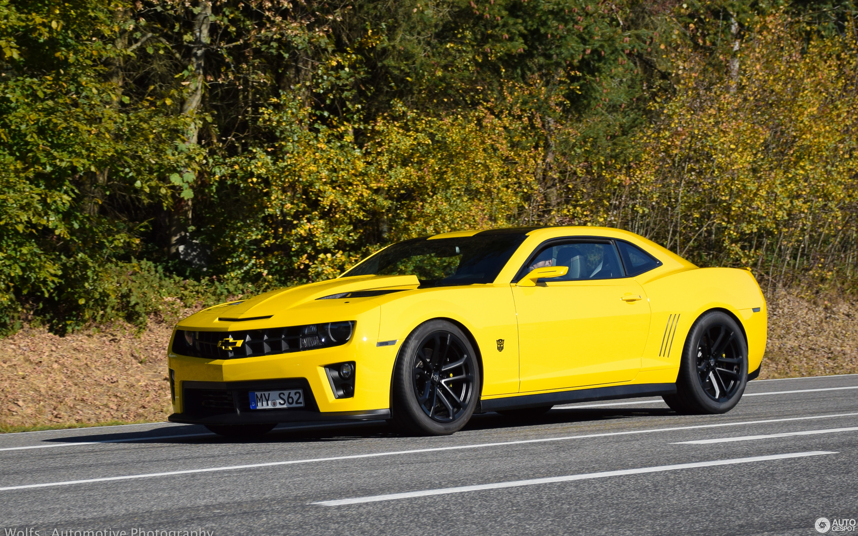 Chevrolet Camaro SS Transformers Edition 2012