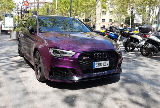 Audi RS3 Sportback 8V 2018 APR Performance