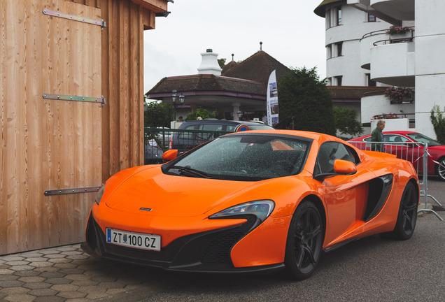 McLaren650S Spider