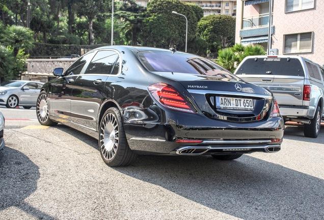 Mercedes-Maybach S 650 X222