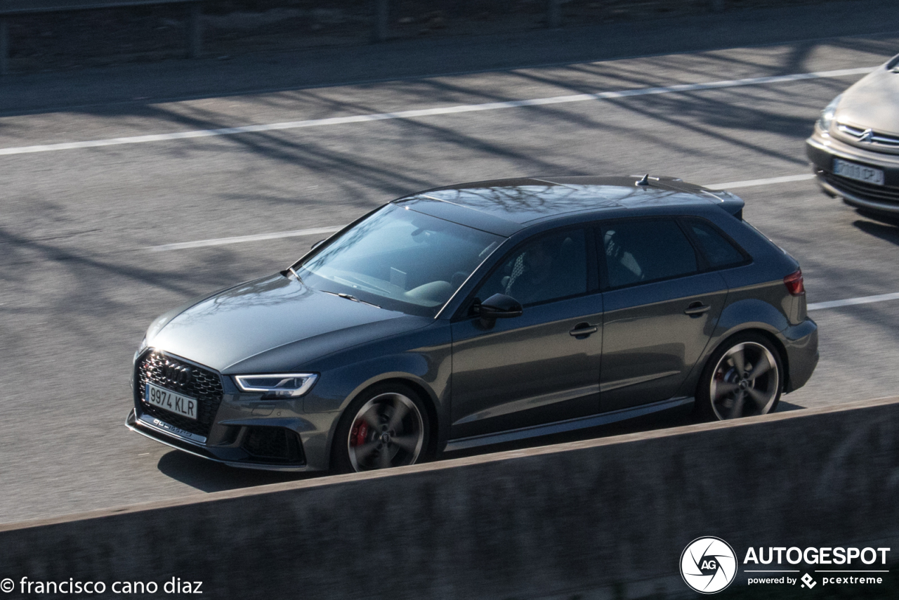 Audi RS3 Sportback 8V 2018 - 24 March 2019 - Autogespot