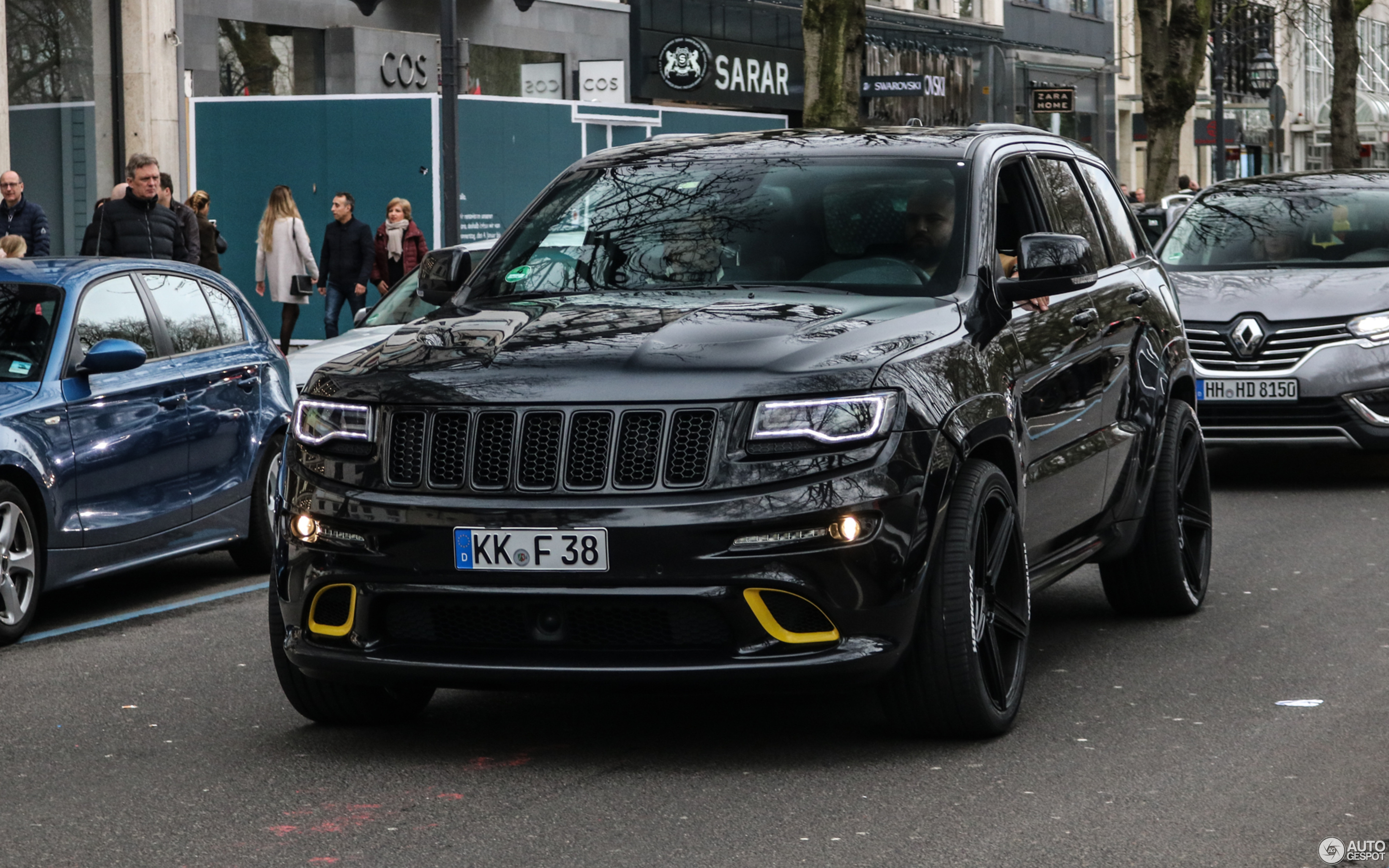 jeep grand cherokee srt 2013 - 24 march 2019
