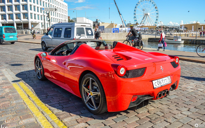 Ferrari 458 Spider - 26 March 2019 - Autogespot