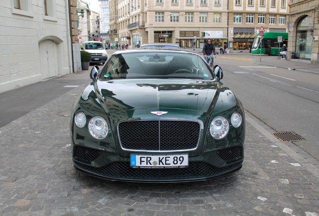 Bentley Continental GT V8 2016