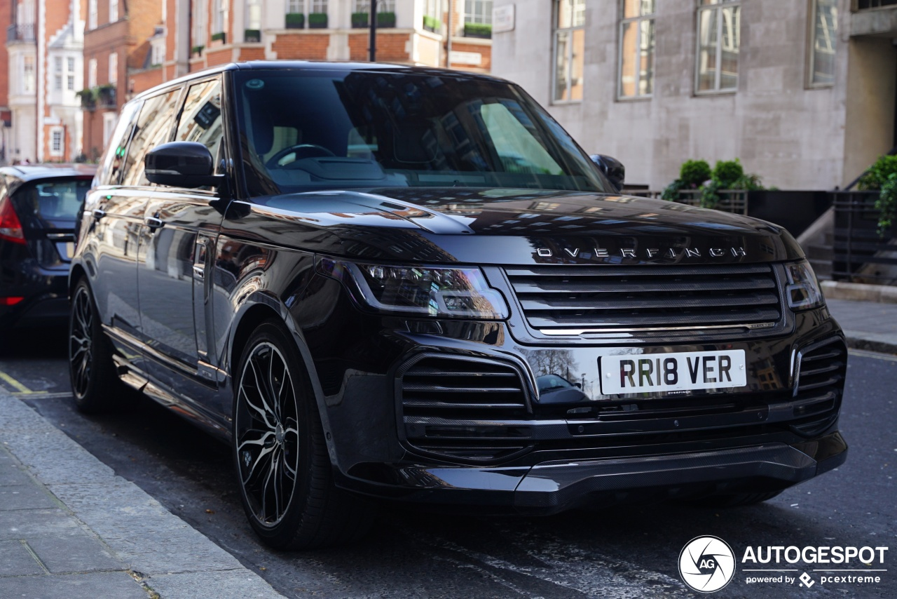Range Rover Overfinch >> Land Rover Overfinch Range Rover L405 2018 31 March 2019