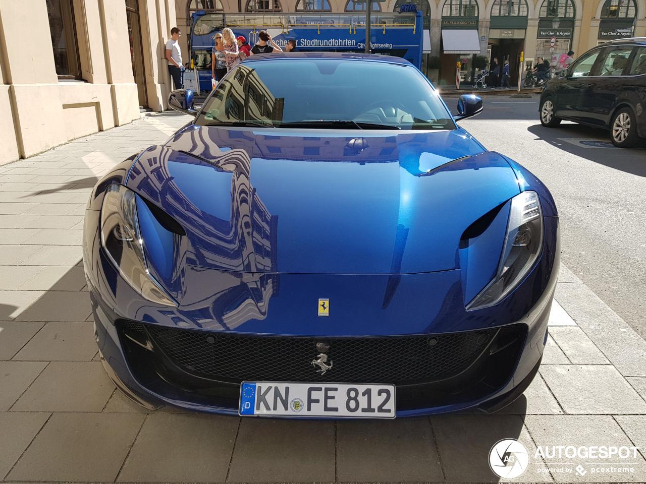 Ferrari 812 Tour De France Blue