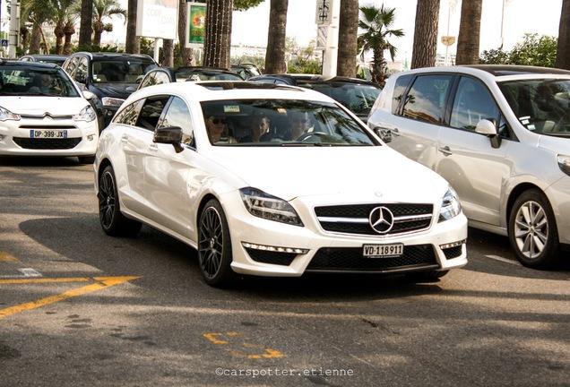 Mercedes-Benz CLS 63 AMG S X218 Shooting Brake