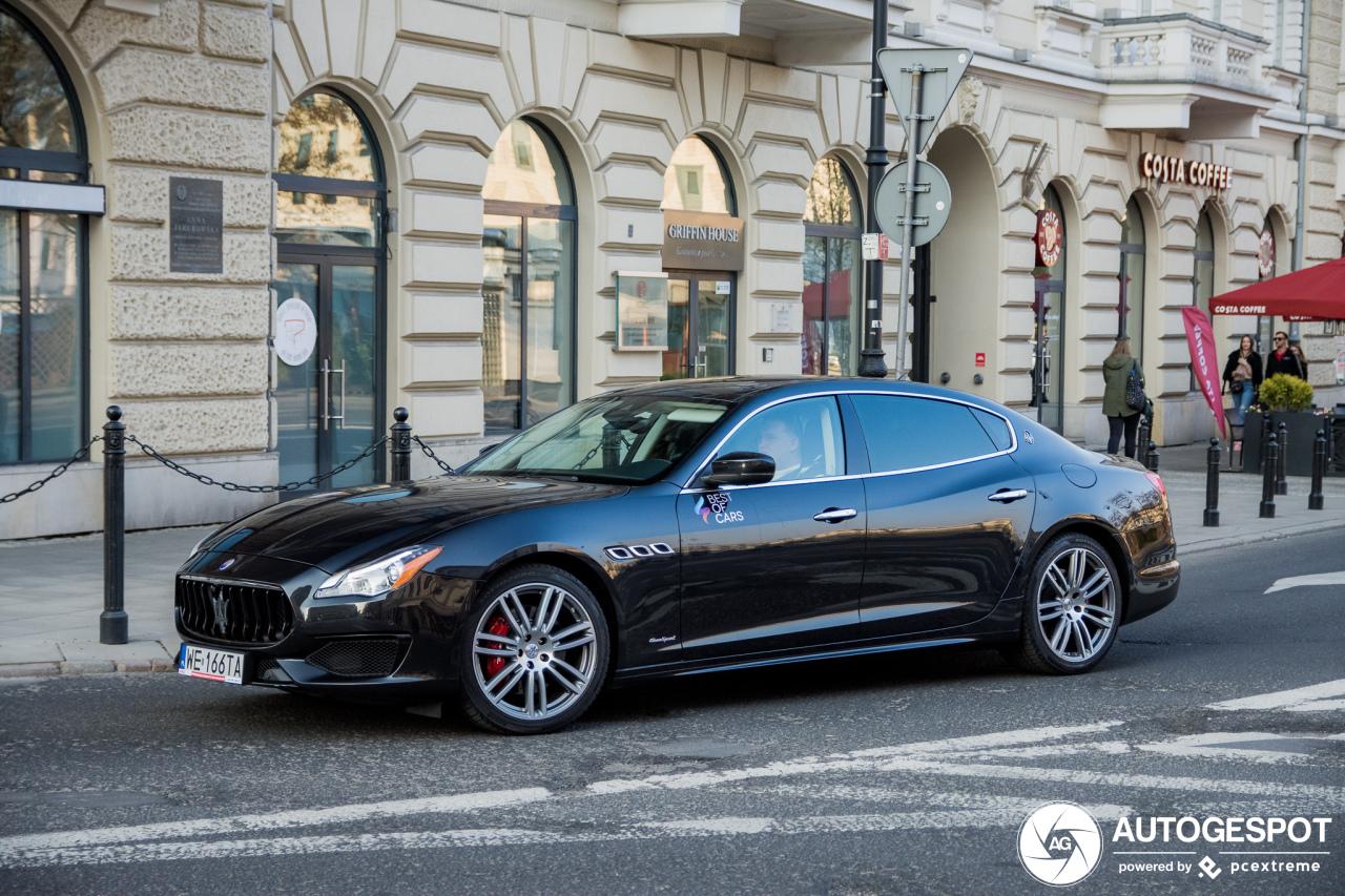 Maserati Quattroporte S Q4 GranSport - 6 April 2019 ...