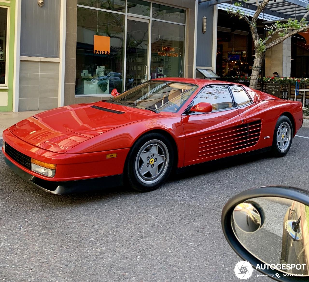 Ferrari Testarossa: Ferrari Testarossa