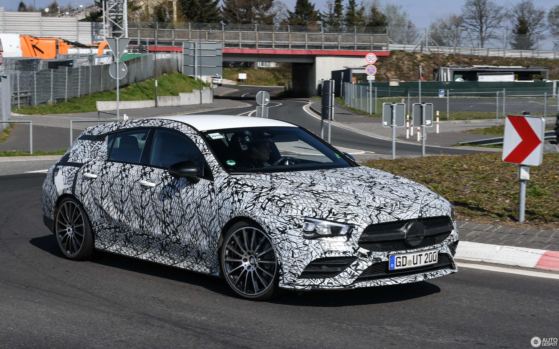 Mercedes-AMG CLA 35 Shooting Brake X118