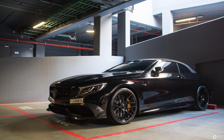 Geneva Motor Show >> Mercedes-Benz Brabus 850 6.0 Biturbo Cabriolet C217 - 15 ...