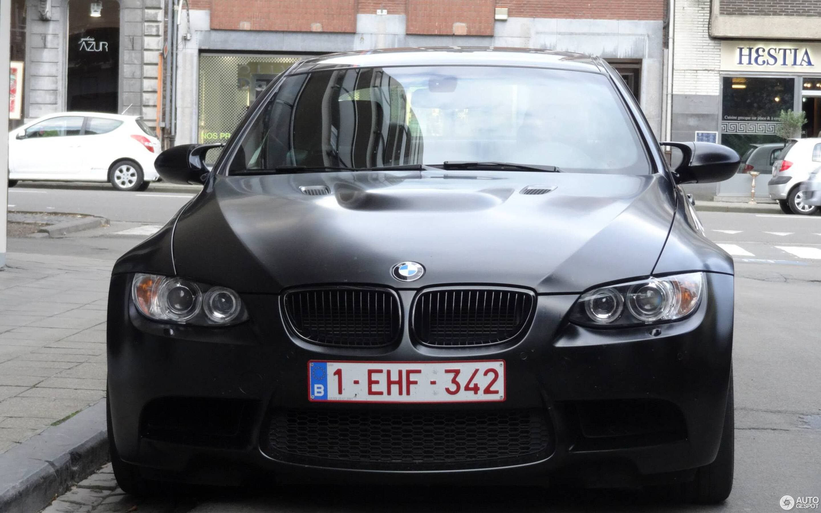 BMW M3 E92 Coupé Frozen Black Edition