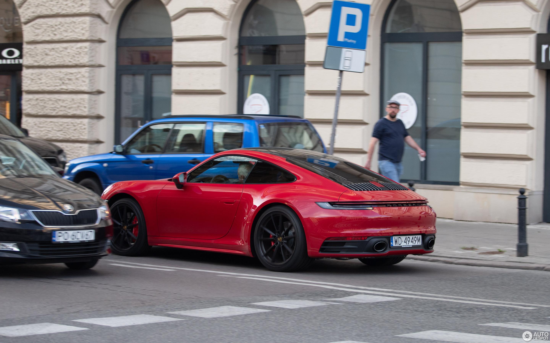 Porsche 992 Carrera S 24 April 2019 Autogespot