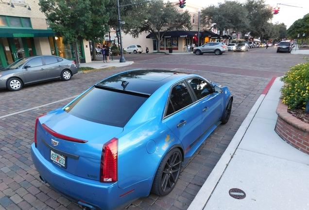 Cadillac CTS-V Sedan Hennessey V700