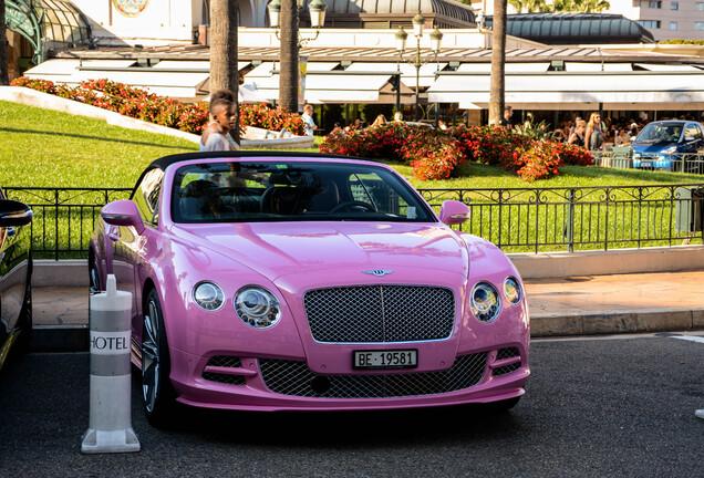 Bentley Continental GTC Speed 2013